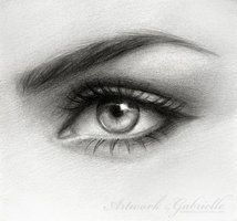 .Eye Drawing. by *gabbyd70 on deviantART
