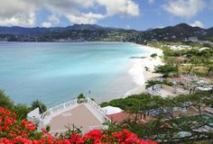 Greetings Card-Grand Anse Beach, Saint George, Grenada, Caribbean-Photo Greetings Card made in the USA Grenada Caribbean, Grenada Beaches, Thing 1, Saint George, Travel Images, Gloss Matte, Places To Visit, Exterior, Poster Prints