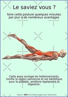 Planches musculo-squelettique sur les mouvements de yoga avec les bienfaits. • Découvrez des millions d'œuvres originales, imaginées par des artistes indépendants.