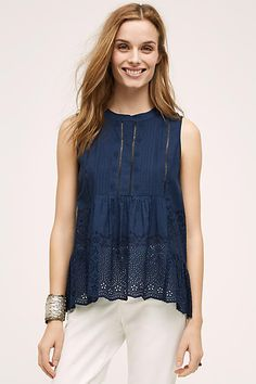 Surin Peplum Top - anthropologie.com