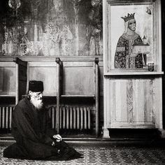 """""""A brother who had sinned was turned out of the church by the priest. Abba Bessarion got up and went out with him saying 'I too am a sinner.'"""" - Sayings of the Desert Fathers by simplyorthodox"""