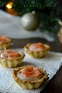 ricetta Tartellette al salmone  Dolce e Salato di Miky