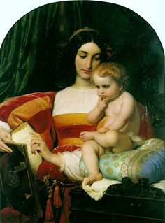 Dětství Pica della Mirandolly - Paul Delaroche | ARTMUSEUM.CZ