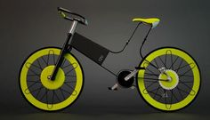Dynamic wheels: Futuristic Electric Bike that explores form factor