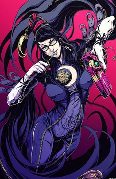 Bayonetta a sexy and powerful umbran witch that owns her sexuality and uses it to help her bring balance back to the world against corrupt heavenly bodies. AWESOME.