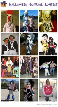Movie and TV Show Costumes - Halloween costume contest via @costume_works