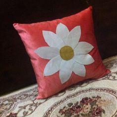 Flower cushion Home Goods, Cushions, Room Decor, Throw Pillows, Homemade, Flowers, Home Decor, Home Made, Cushion