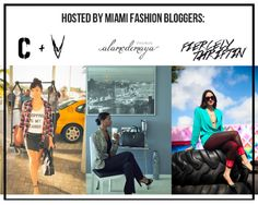 D'ana (Collections and Volumes) | Maya (A la Mode Maya) | Veronica(Fiercely Thriftin) will be hosting this month's Fashion Happy Hour!!! Tickets on sale: www.fashionhappyhour.com/rsvp