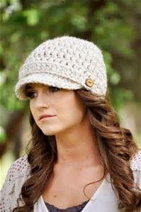 Women's Crochet Newsboy Hat Pattern için resim sonucu