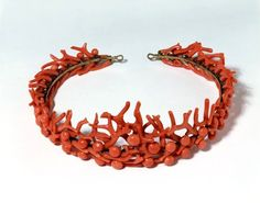 Coral Tiara made by the Phillips Brothers of London in the 1860