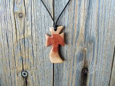 Pendant  Wood Pendant  Cross Pendant  by forestinspiration on Etsy, $25.00