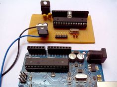 Build an Arduino clone. It has to be programmed in an original Arduino, but once it is you have a standalone Arduino.
