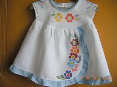 Childrens Sewing Patterns, Baby Girl Dress Patterns, Baby Dress Design, Frock Design, Newborn Girl Dresses, Girls Dresses, Baby Frocks Designs, Little Dresses, Baby Sewing
