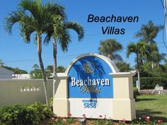 Beachaven Villas Condo Complex on Siesta Key Beach