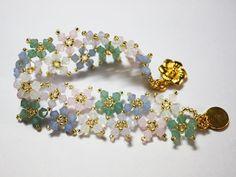 Flower Bracelet by BeeJang - Piratchada, via Flickr
