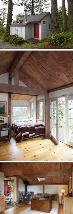Tiny house • rustic appeal