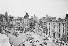 Calle Alcalá, Madrid 1960