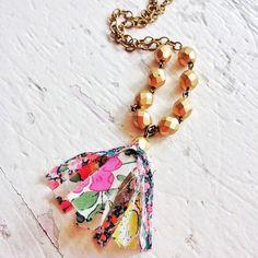 New Long Tassel Necklace (Taken with Instagram)