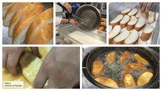 Los siete consejos de un pastelero para que tus torrijas te queden bien cremosas Sausage, Cheese, Meat, Chocolates, Shape, Holiday Desserts, Cake Recipes, Cooking Recipes, Kitchens