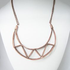 Ana Claudia Design: Truss-T Necklace Copper Plate, at 17% off!