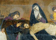 The Avignon Pieta (detail), Enguerrand Quarton
