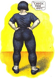 Posts about Robert Crumb written by Biblioklept Robert Crumb, Arte Do Pulp Fiction, Image Positive, Alternative Comics, Manga Anime, Drawing Sketches, Drawings, Comic Artist, American Artists