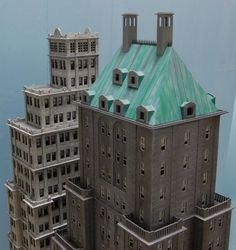 model railroad structure images | HO scale skyscrapers