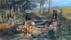 Title:	Christ and the Samaritan Woman Date:	1890 Artist:	Siemiradzki, Henryk, 1843-1902
