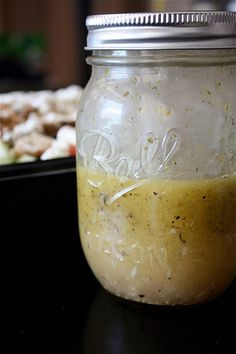 Simple Greek-Style Vinaigrette Recipe #earthbalance