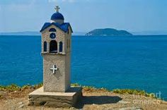 Greek Orthodox Roadside Shrine