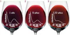 Evolución del color del vino
