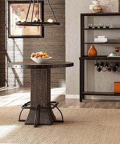 Look what I found on #zulily! Round Jennings Counter-Height Dining Table #zulilyfinds