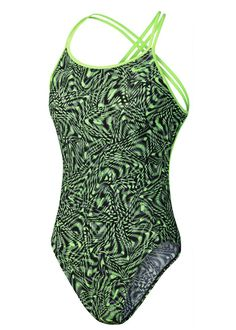 Nike Womens Momentum Swimsuit - Green