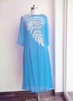 New Arrival Blue Color Georgette Kurti_SF-422 Saiveera Fashion is Popular brand in Women Clothing in Surat. Saiveera Fashion is Produce many kind of Women's Clothes like Anarkali Salwar Suits, Straight Salwar Suits, Patiala Salwar Suits, Palazzos, Sarees, Leggings, Salwars, Kurtis, etc. For any Query Contact/Whatsapp on +91-8469103344.