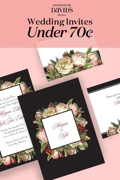 Find the perfect wedding invitation for your special day at an affordable price! | Search Invitations by David's Bridal
