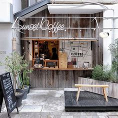 Home Decoration For Halloween Product Small Coffee Shop, Coffee Shop Bar, Coffee Store, Cafe Shop Design, Cafe Interior Design, Coffee Shop Aesthetic, Cafe Concept, Coffee Stands, Cozy Cafe
