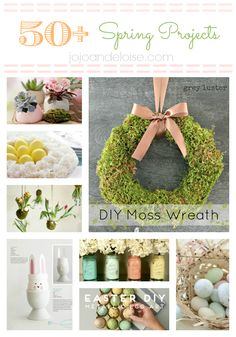 50+ Spring Projects - JoJo and Eloise