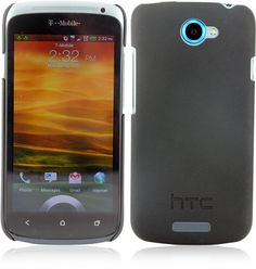 HTC HC C740 Hard Shell Case (Black) for HTC One S