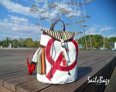Sails Bags Back Pack Optimist #sailsbags
