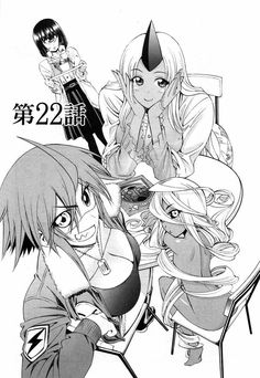 Manako, Toinishia, Zombina & Doppel (Monster Musume: Everyday Life With Monster Girls) Chica Anime Manga, Manga Girl, Anime Art, Nichijou, Zombina Monster Musume, Zombieland 2, Monster Museum, Everyday Life With Monsters, Epic Pictures