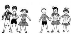 Dzieci z Bullerbyn Wall Collage, Illustrators, Childhood, Education, School, Children, Tattoo, Patterns, People