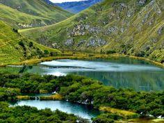 Lago Papacocha, Reserva Paisajistica Nor Yauyos Cochas, Huancaya - Provincia de Yauyos, Región Lima