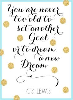 You are never too old. #dream #goal #inspiration