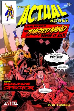Comic Book Preview: The Actual Roger #4 - Bounding Into Comics