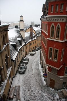 Stockholm - Former pinner:I've wanted to go ever since I read Girl With The Dragon Tattoo