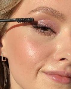 Edgy Makeup, Glamour Makeup, Pink Makeup, Glow Makeup, Cute Makeup, Natural Makeup, Natural Eyeshadow Looks, Soft Makeup Looks, Pink Eyeshadow