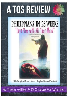 """My most favorite thing about the study [Philippians in 28 Weeks] was the discussions that spilled out of the Questions supplied. How can this apply to my life?   #homeschool #Bible #Philippians"
