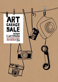 Art garage sale