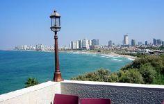 Looking toward Tel Aviv from Jaffa Israel