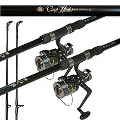 Carp Combo Carp Rod Bait Runner Reel X 2 by Lineaeffe >>> Find out more about the great product at the image link. (This is an affiliate link) Carp Fishing, Fishing Reels, Carp Rods, Rod And Reel, At Home Gym, Bait, Scotland, Image Link, Exercise